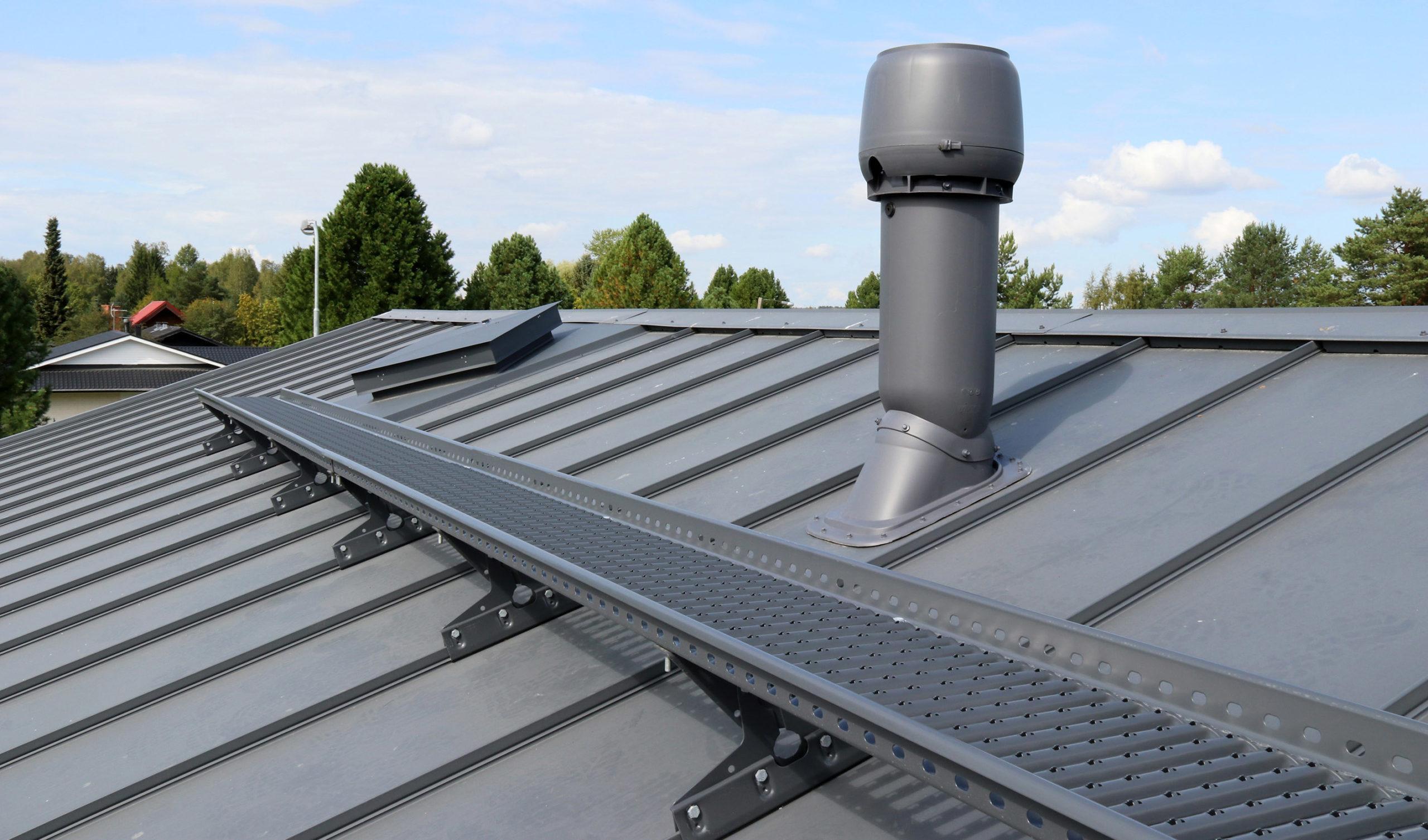 Pisko kattosilta on markkinoiden tukevin ja helppo asentaa.