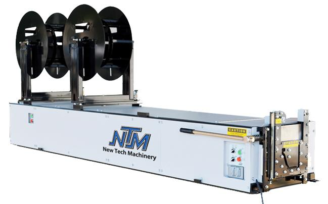 6 tuuman NTM-Kanttinen-kourukone